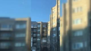 В Североморске дети прыгают по крыше 9 этажного дома