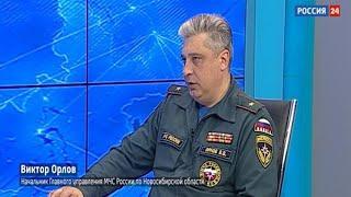 Погибших в пожарах в Новосибирской области в этом году стало больше