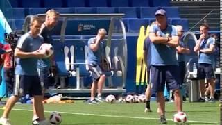 Капитан сборной Швеции поделился планами на предстоящую игру в Самаре