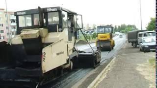 В Березовском продолжается капитальный ремонт дорог