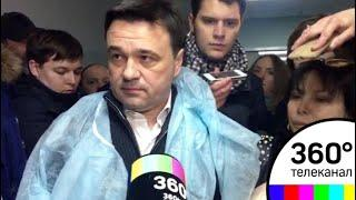 Губернатор Андрей Воробьев приехал в ЦРБ Волоколамска