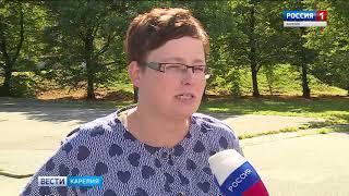 В Петрозаводске продолжается благоустройство общественных территорий