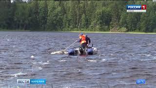 Трагедия на озере в Сортавальском районе