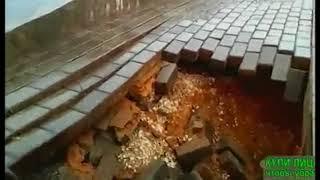 Новый мост в Суздале снова не прошел проверку непогодой