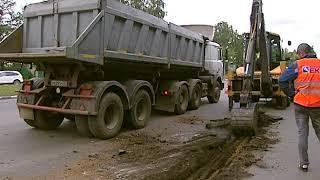 На проспекте Авиаторов в Ярославле начался долгожданный ремонт