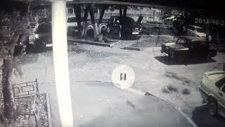 Эпичное падение автовора в Воронеже (смотреть до конца)