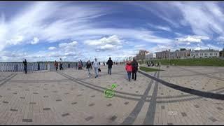 Нижне-Волжская набережная 2018 панорама 360