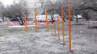 Свалка на детской площадке 10.2.2018 Ростов-на-Дону Главный