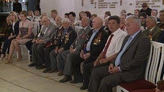 В Триумфальном зале музея-панорамы «Сталинградская битва» чествовали ветеранов