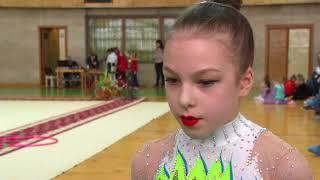 Омские гимнастки блестяще выступили на 19 Открытом областном турнире