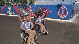 У Никиты и Егора Литвинских сбылась мечта увидеть звезд мирового футбола на «Волгоград Арене»