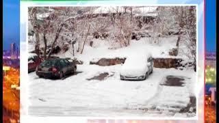 Аномальная весна. Южный Урал накрыл мощный снегопад