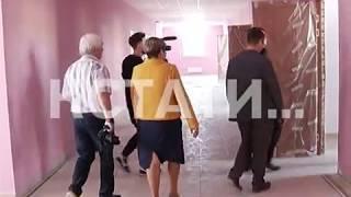 Строительство новой школы заканчивается в поселке Суроватиха