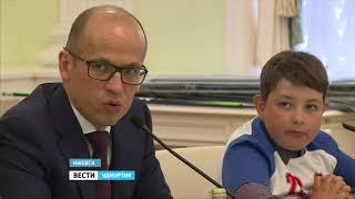 Проект ледового дворца «Можга» презентовали в Резиденции Главы Удмуртии Александра Бречалова