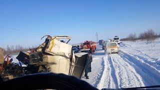 Вахтовики из Татарстана попали в ДТП на Ямале