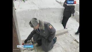 В Чебоксарах почтили память погибших сотрудников внутренних дел и жертв пожара в Кемерово