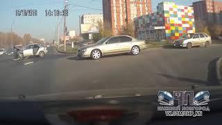 Жуткое ДТП на Львовской попало на видео