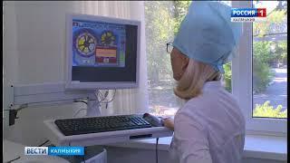 Алексей Орлов посетил клинико-диагностическое отделение республиканской больницы
