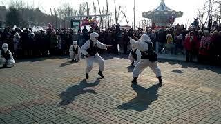 Хабаровск, 23 февраля на набережной