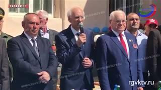 В Хасавюрте открыли памятник Герою России Тулпару Мусалаеву