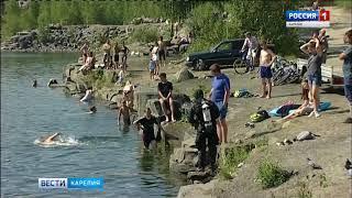 Стали известны обстоятельства гибели утонувшего в карьере в Петрозаводске
