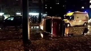Авария в центре Ставрополя. Движение парализовано