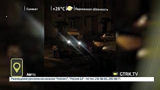 В Башкирии дорожные рабочие не дают спать жителям домов