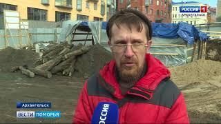 Забивать сваи нового речного вокзала в Архангельске начнут уже на этой неделе