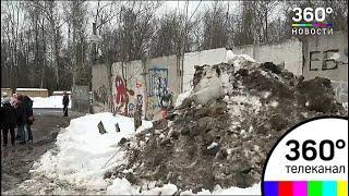 В Жуковском придумали оригинальный способ уборки сугробов