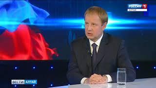 Виктор Томенко расскажет о новом Правительстве, судьбе Дворца спорта и отопительном сезоне