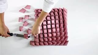 Кондитер из Харькова создает геометрические десерты на 3D-принтере