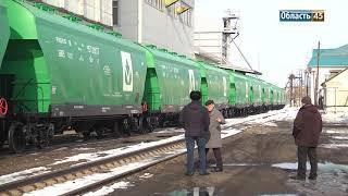В Зауралье пришли новые вагоны для перевозки зерна
