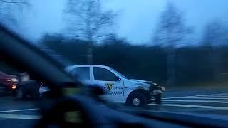 Авария на выезде из Дзержинска