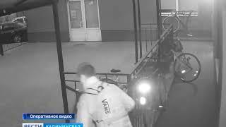Велосипедные воры попали на запись с камер видеонаблюдения