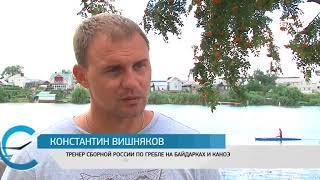 В Энгельсе прошли всероссийские соревнования по гребле