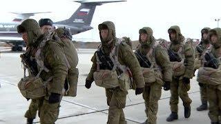 Под Ейском отряды десантников взяли штурмом военный аэродром