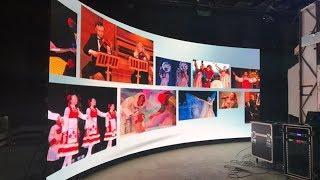 126 мониторов как один - в ОТРК «Югра» появилась гигантская видеостена