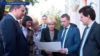 Вице-премьер Ольга Голодец посетила Старую Руссу