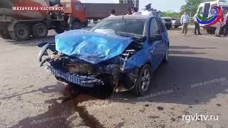 В аварии на трассе «Махачкала – Каспийск» погибла женщина