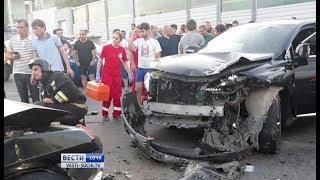 Лобовое столкновение: ДТП произошло в районе аэропорта Сочи