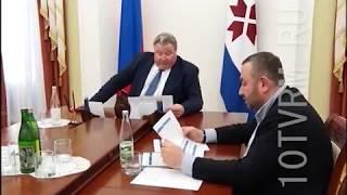 Реализацию новых проектов компании «РМ Рейл» обсудили Владимир Волков и Павел Овчинников