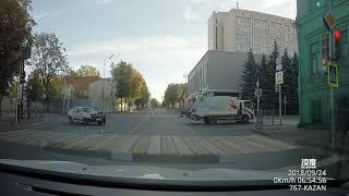 ДТП мусоровоз Казань