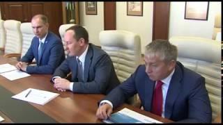 Губернатор Дмитрий Миронов встретился с главой компании «Россети» Павлом Ливинским