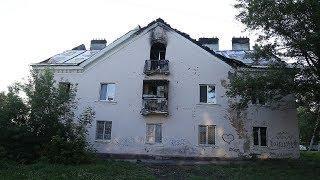 UTV. В Уфе сгорела крыша ветхого дома. Теперь с жильцов требуют 6 миллионов за капремонт