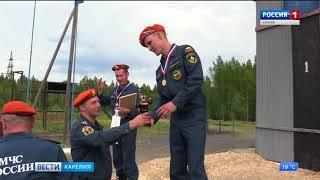 Лучших работников пожарной охраны Северо-Запада выбрали в Петрозаводске