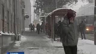 Погода на Дону: синоптики снова обещают снегопад и ветер