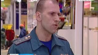 В Красноярске продолжается проверка торговых центров
