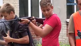 Кузнецкие школьники прошли краткий курс молодого бойца