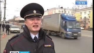 Троллейбус с пассажирами протаранил ограждение в Братске