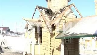 Церковь на святом источнике сгорела в Дивееве